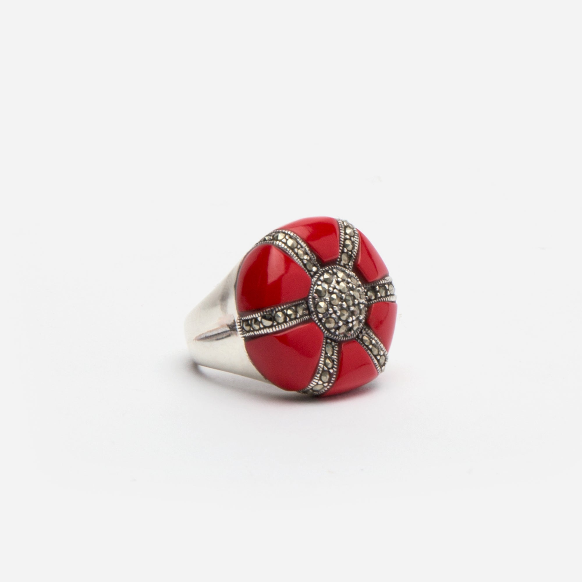 Anemone Coral Ring