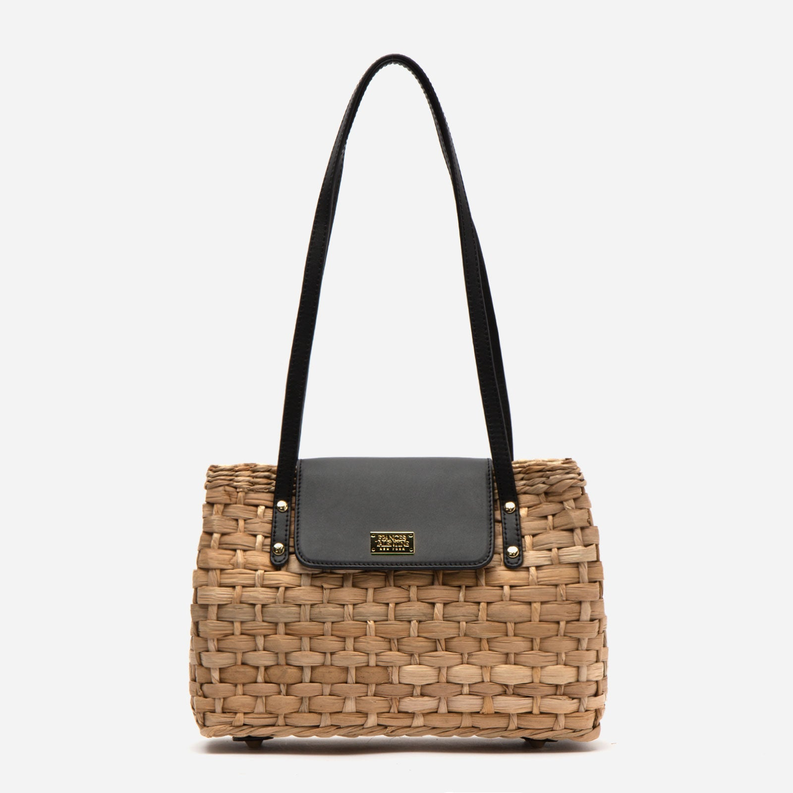 Medium Gigi Basket Black - Frances Valentine