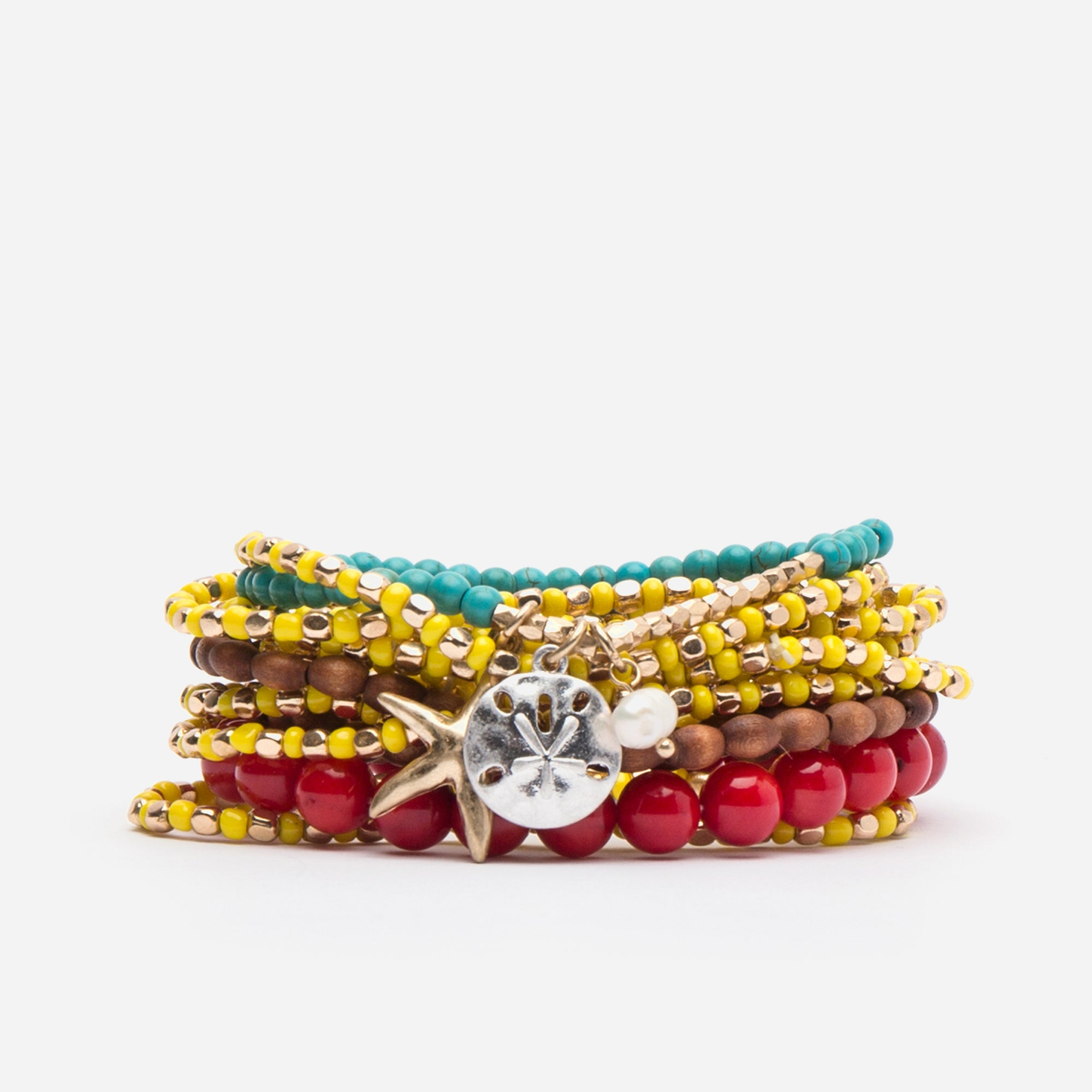 Shores Stacked Bracelets