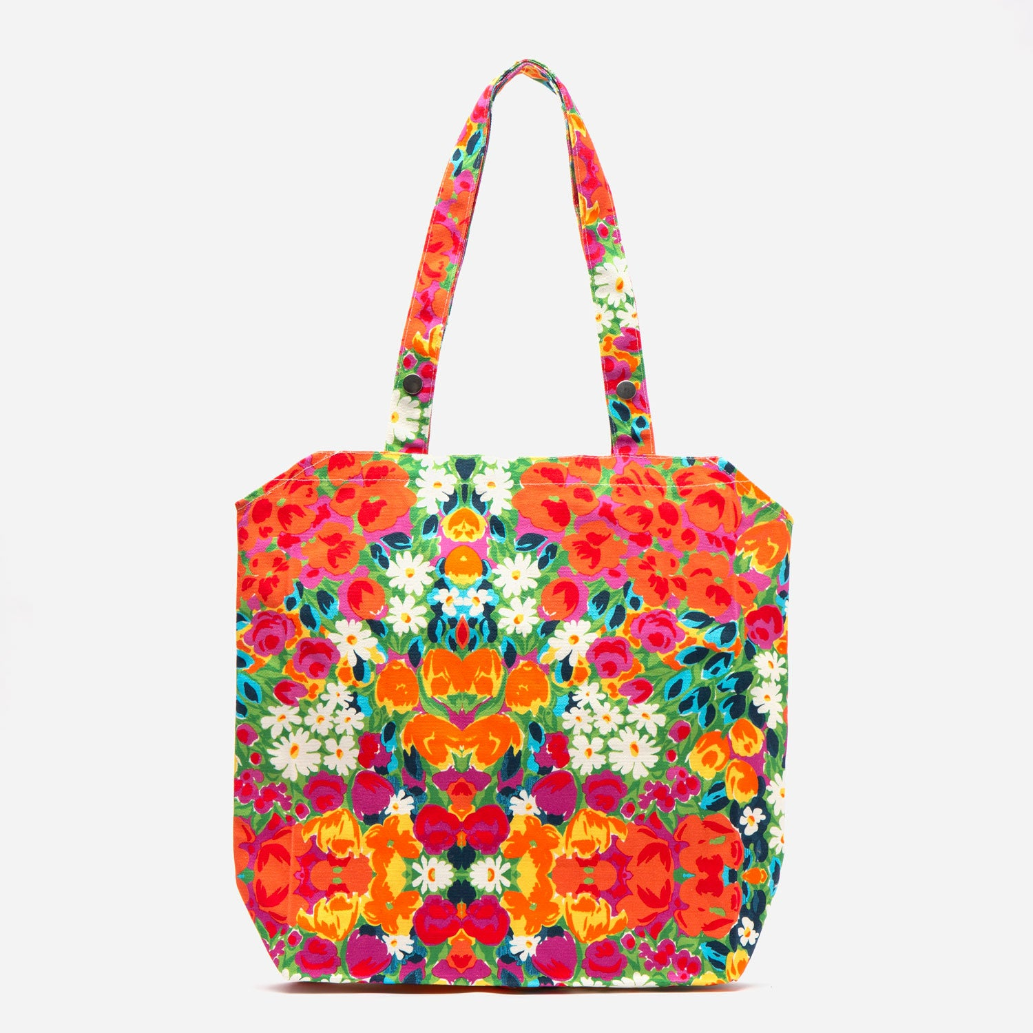 Easy Canvas Tote Bright Floral - Frances Valentine
