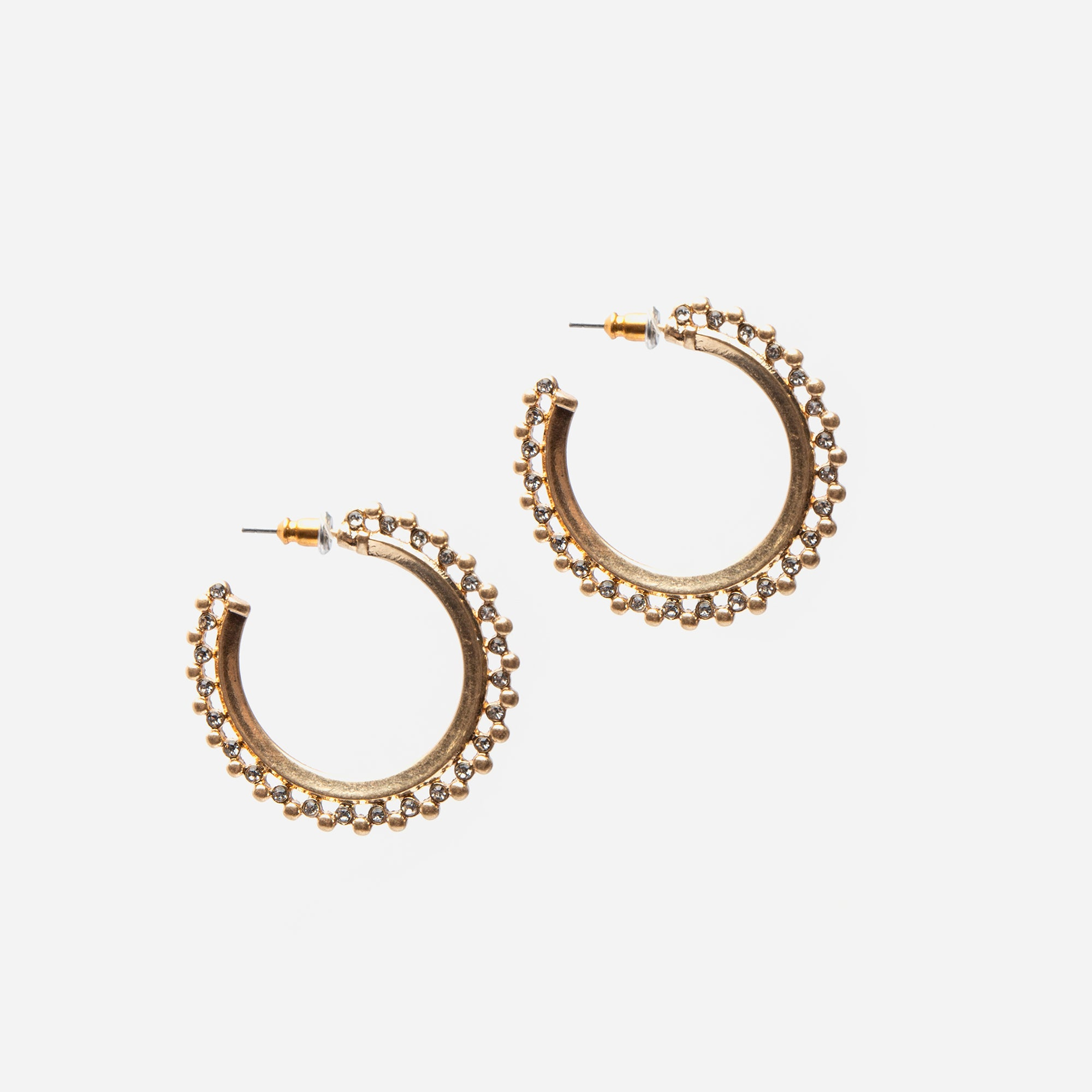 Charleston Hoop Earrings
