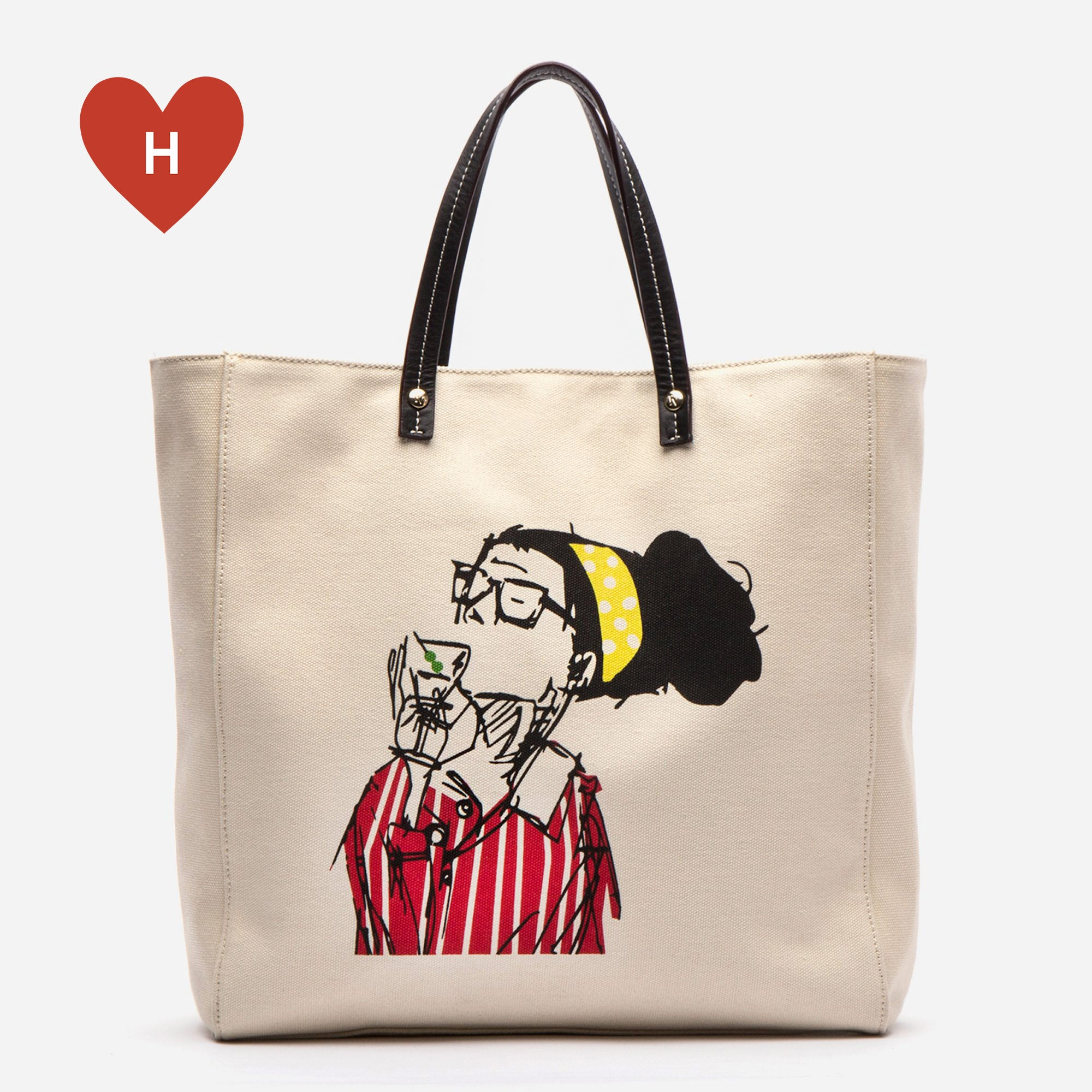 *DONATE TO A HEALTHCARE HERO* Cheers to You Canvas Tote - Frances Valentine