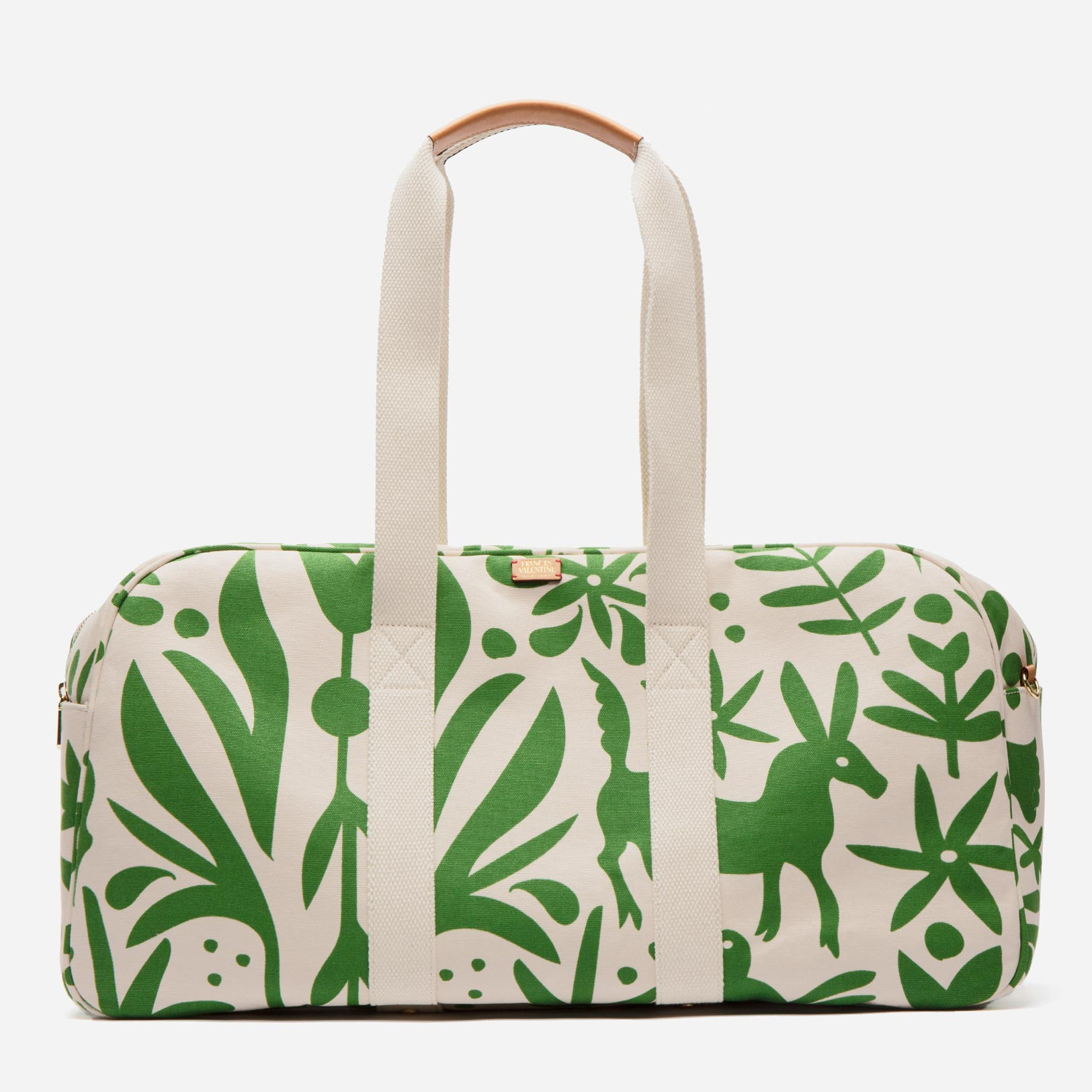 Canvas Duffle Oyster Veracruz Green