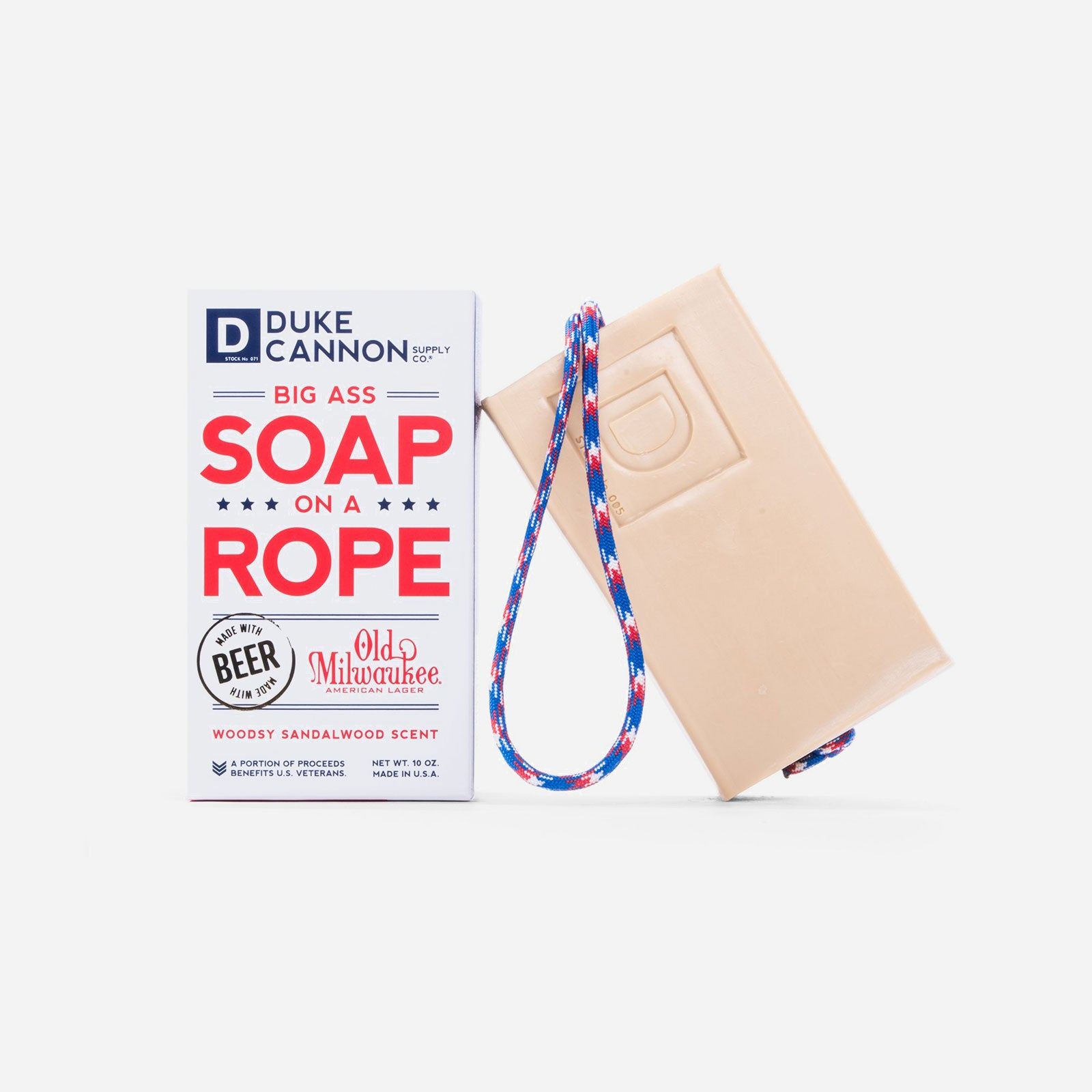Duke Cannon Soap On A Rope - Frances Valentine