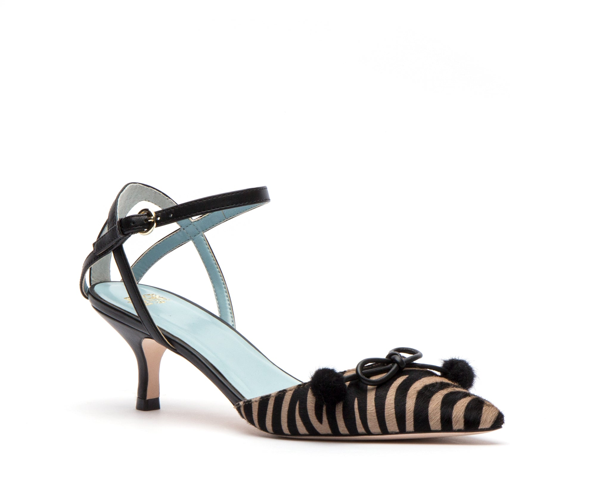 Alister Pointed Toe Pumps Zebra