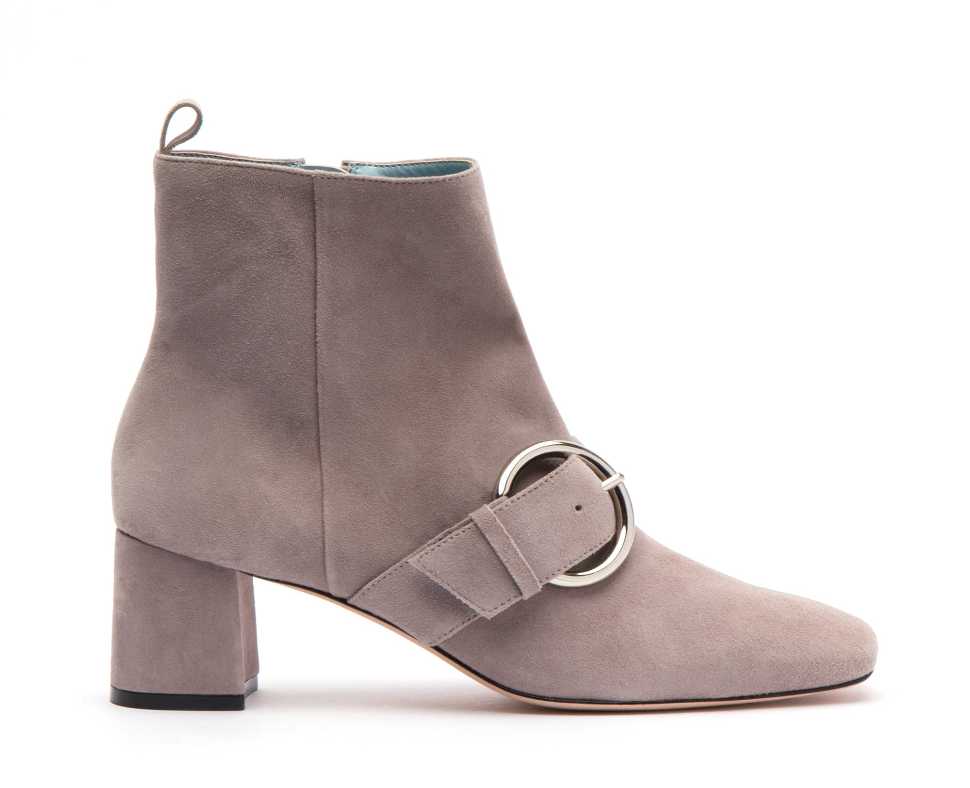Cassie Suede Ankle Boots Grey