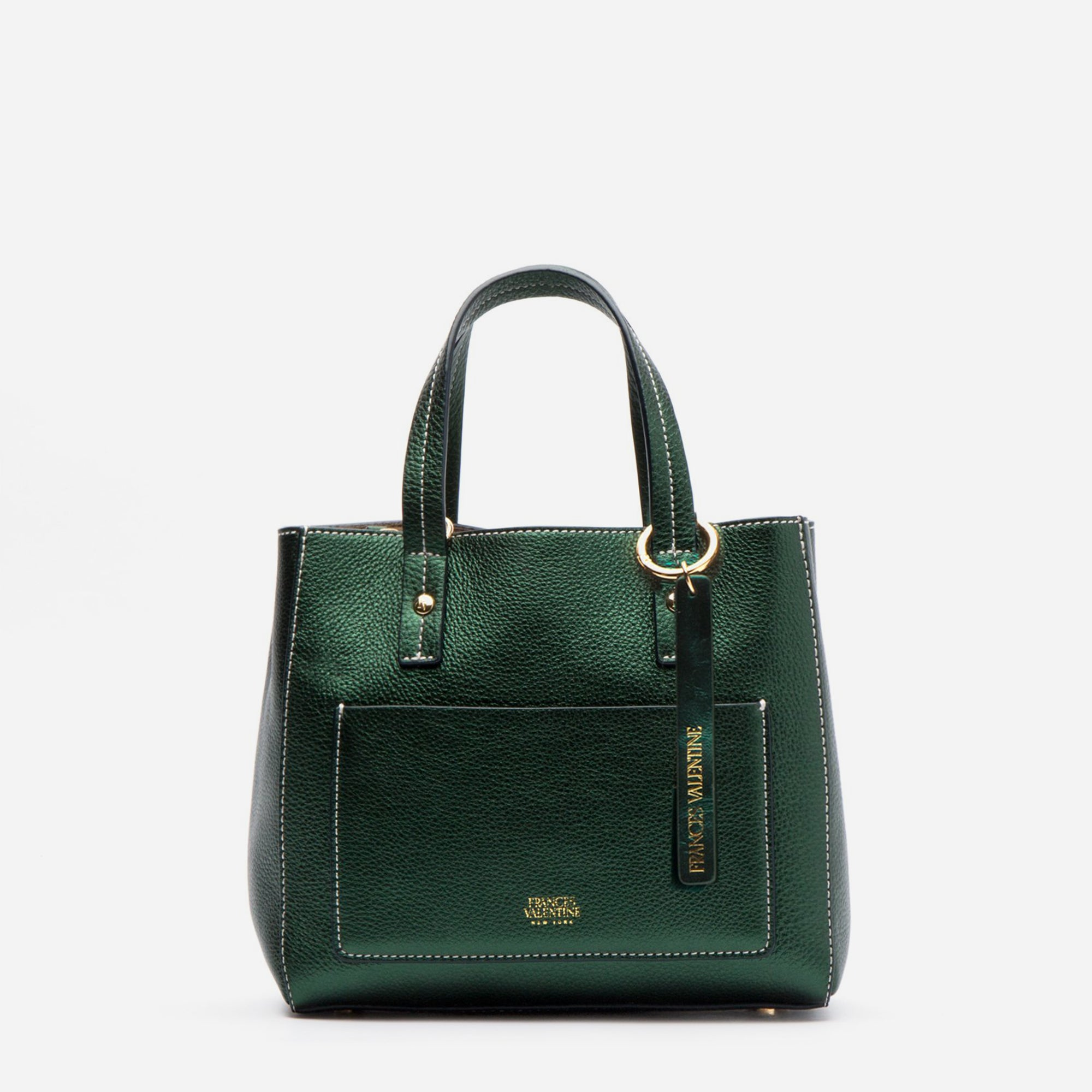 Small Chloe Bottle Green Leather