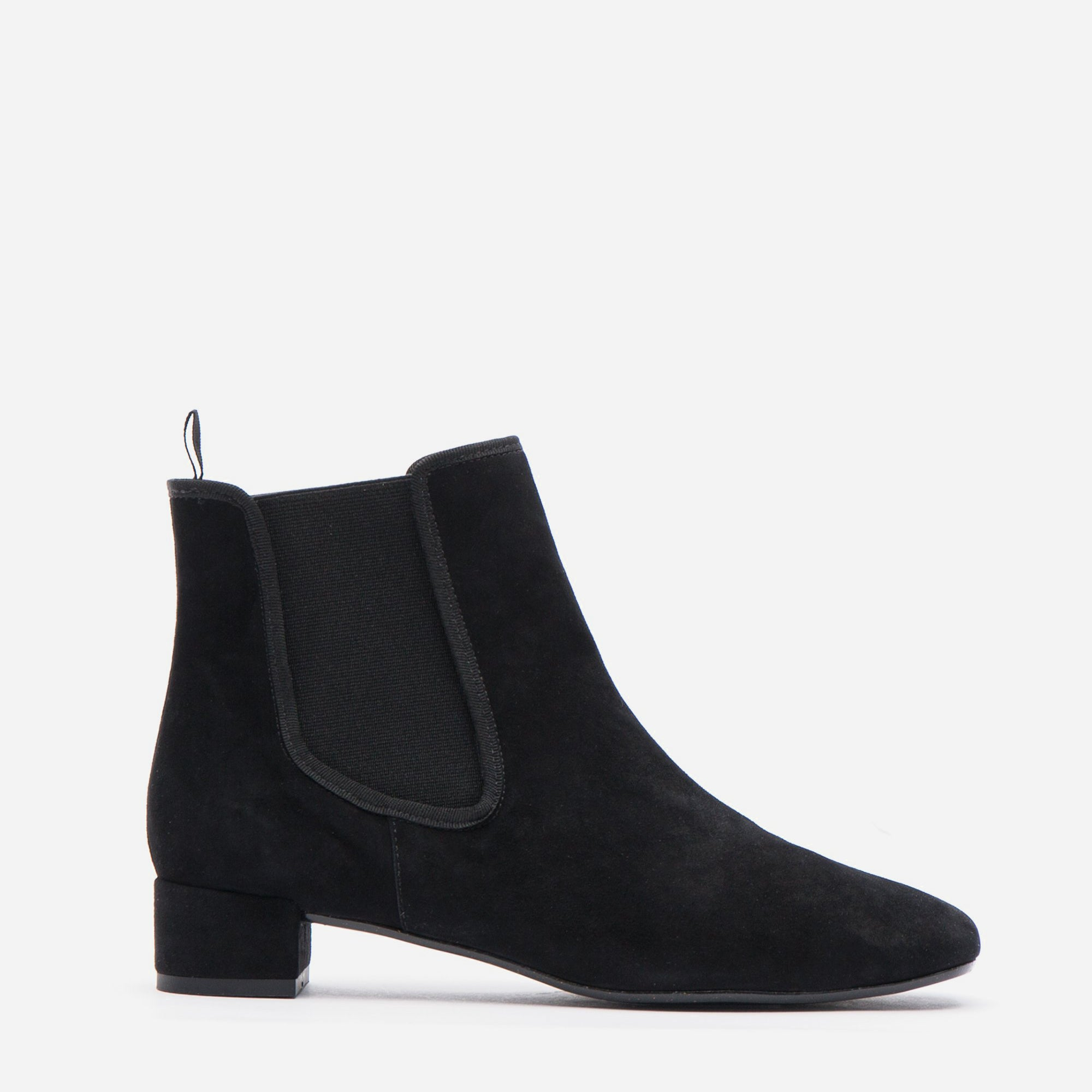 Milly Suede Boot Black - Frances Valentine