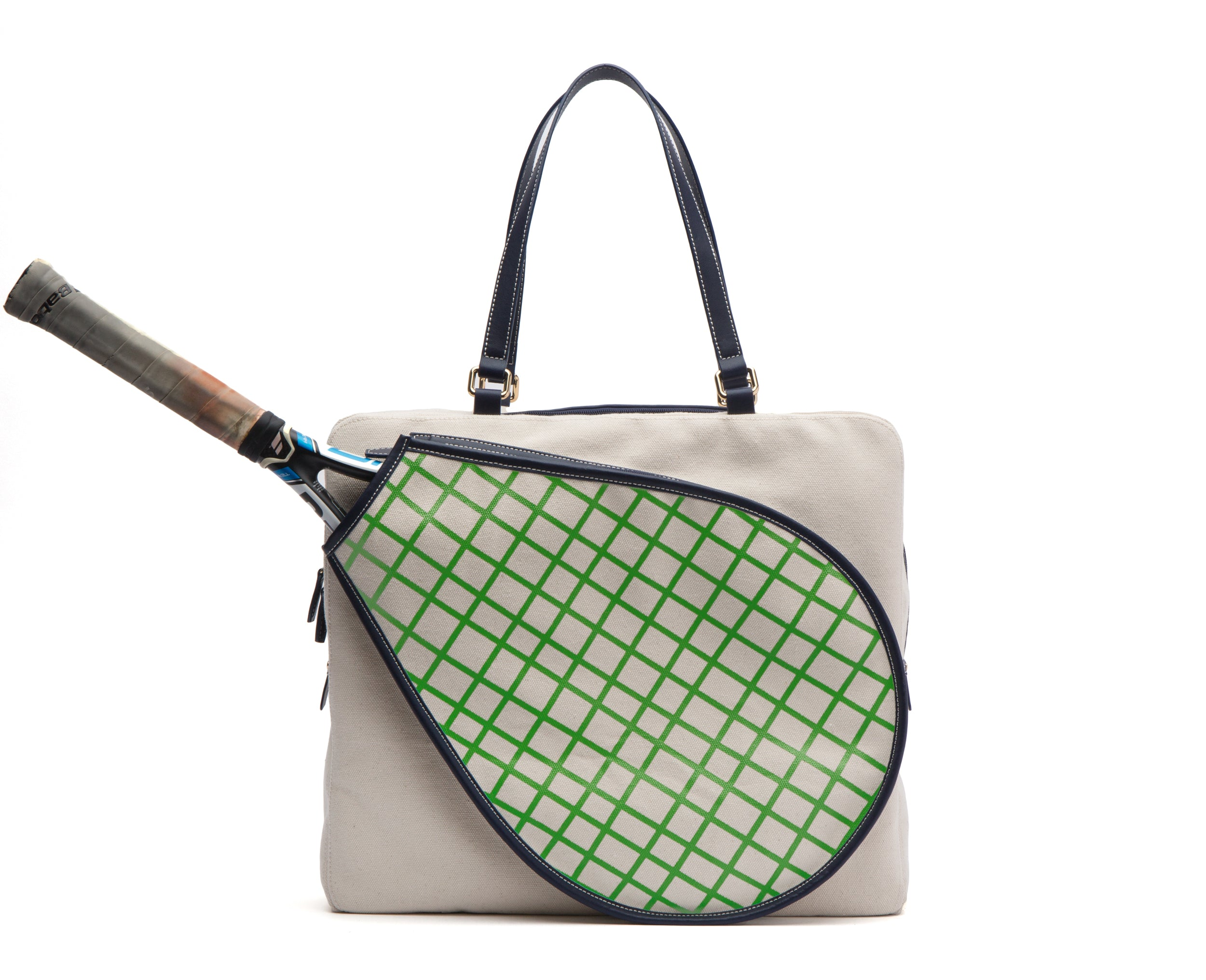 Courtney Tennis Bag Natural
