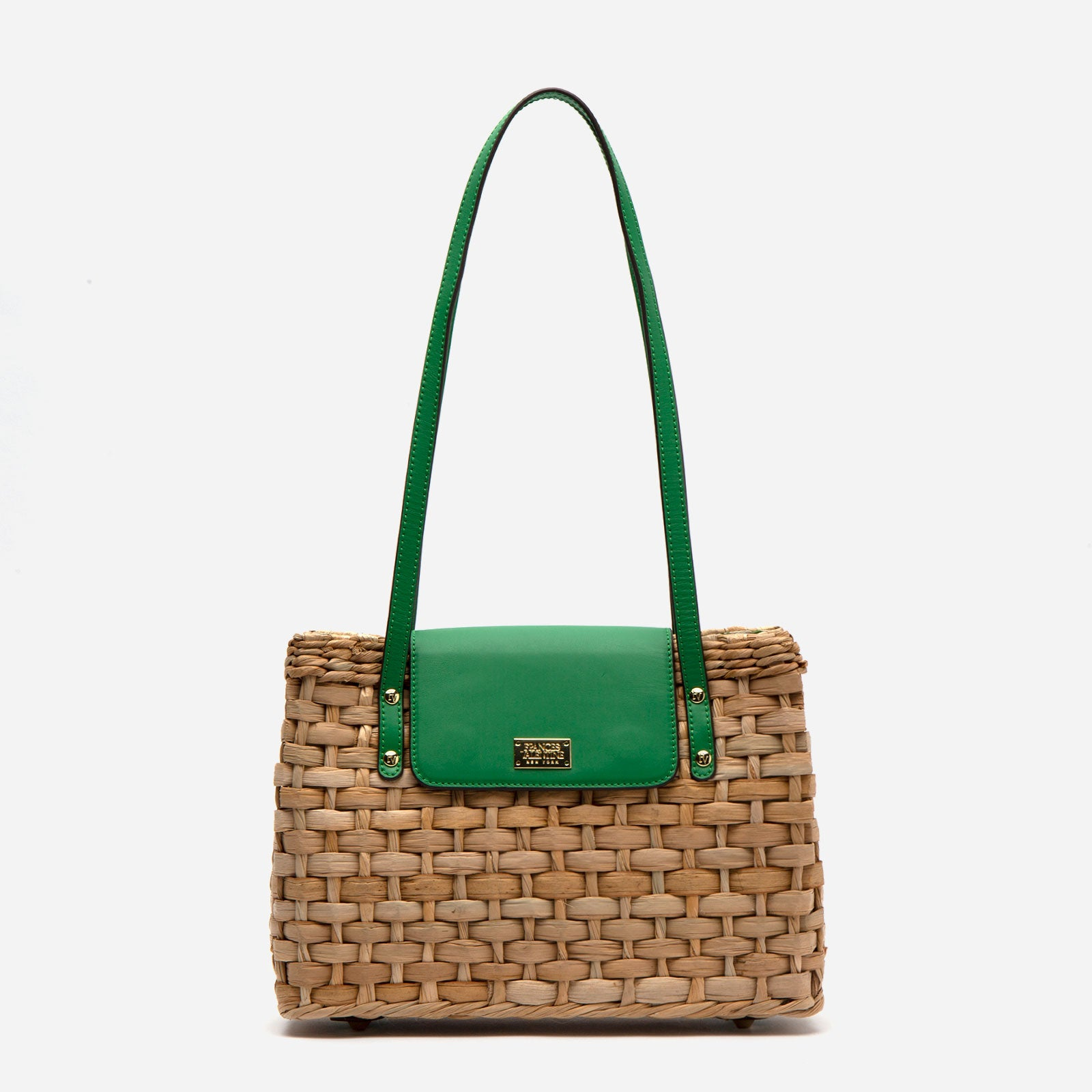 Medium Gigi Basket Green