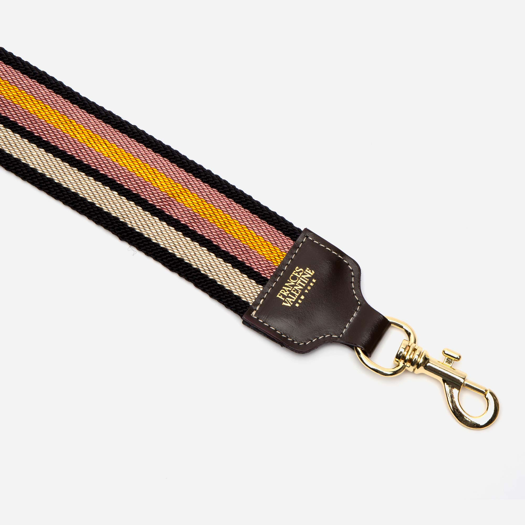 McCartney Guitar Strap Rose Yellow - Frances Valentine