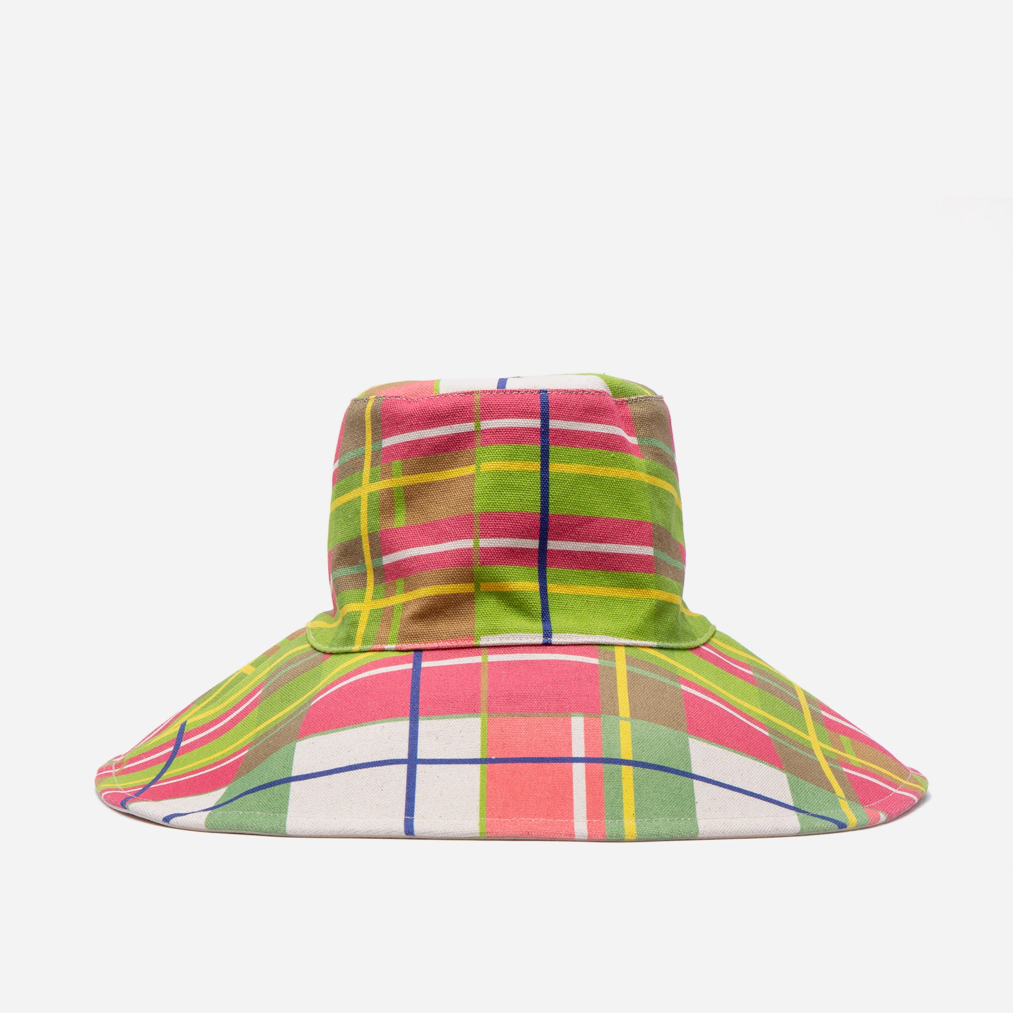 Bermuda Plaid Reversible Canvas Hat