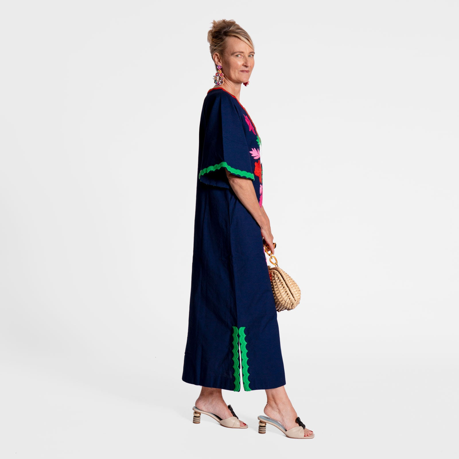 Joy Caftan Navy
