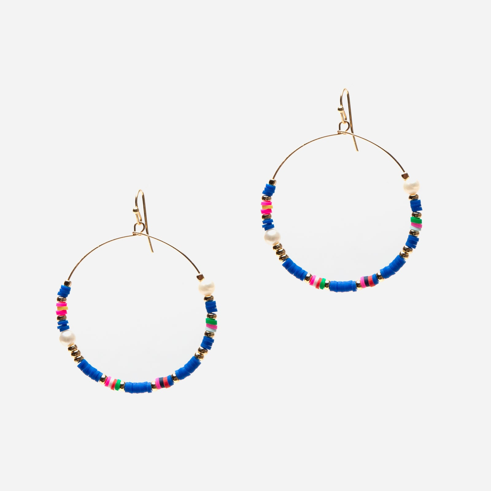 Milos Hoop Earrings