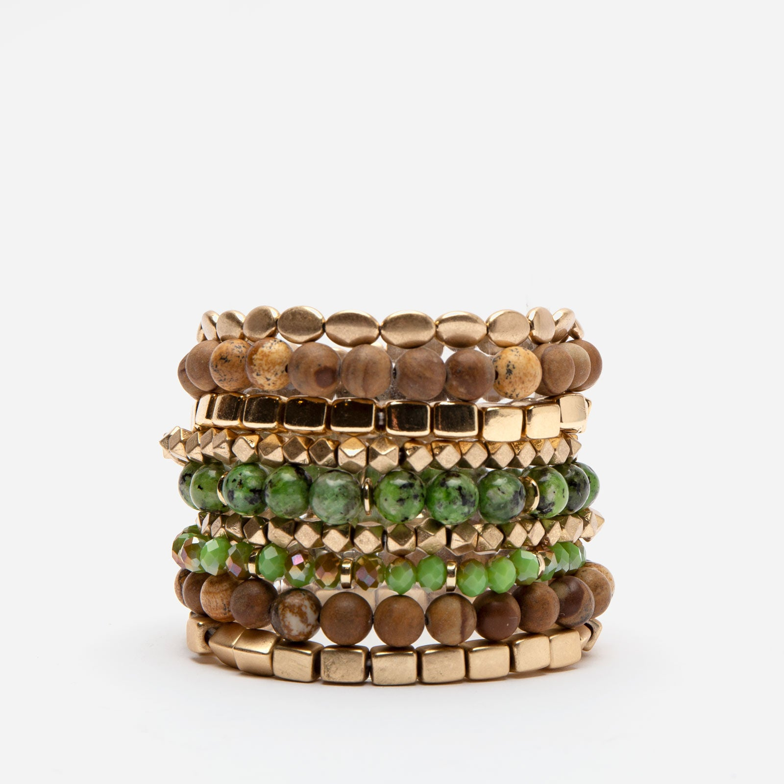 Hunter Stacked Bracelets
