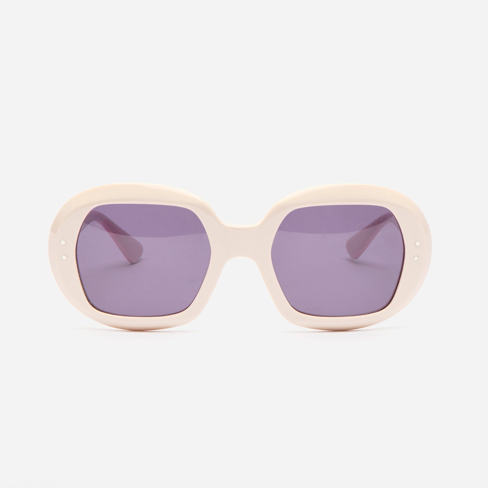 Selima Optique x FV Babs Sunglasses Ivory