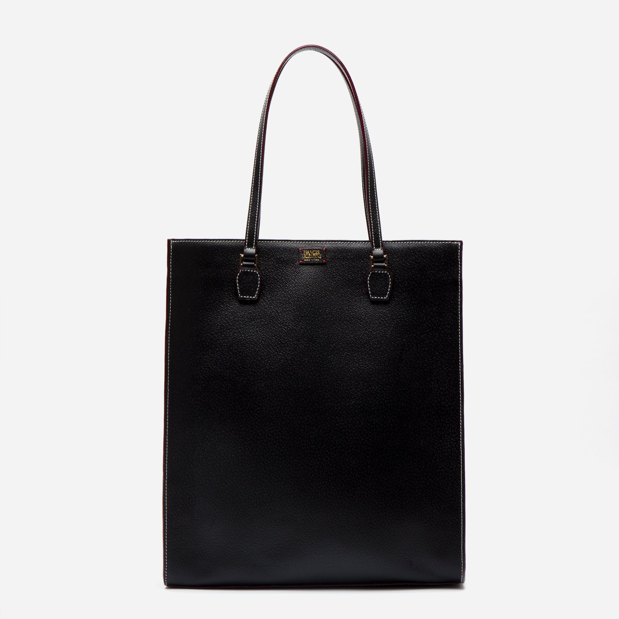 Julia Shopper Boarskin Black