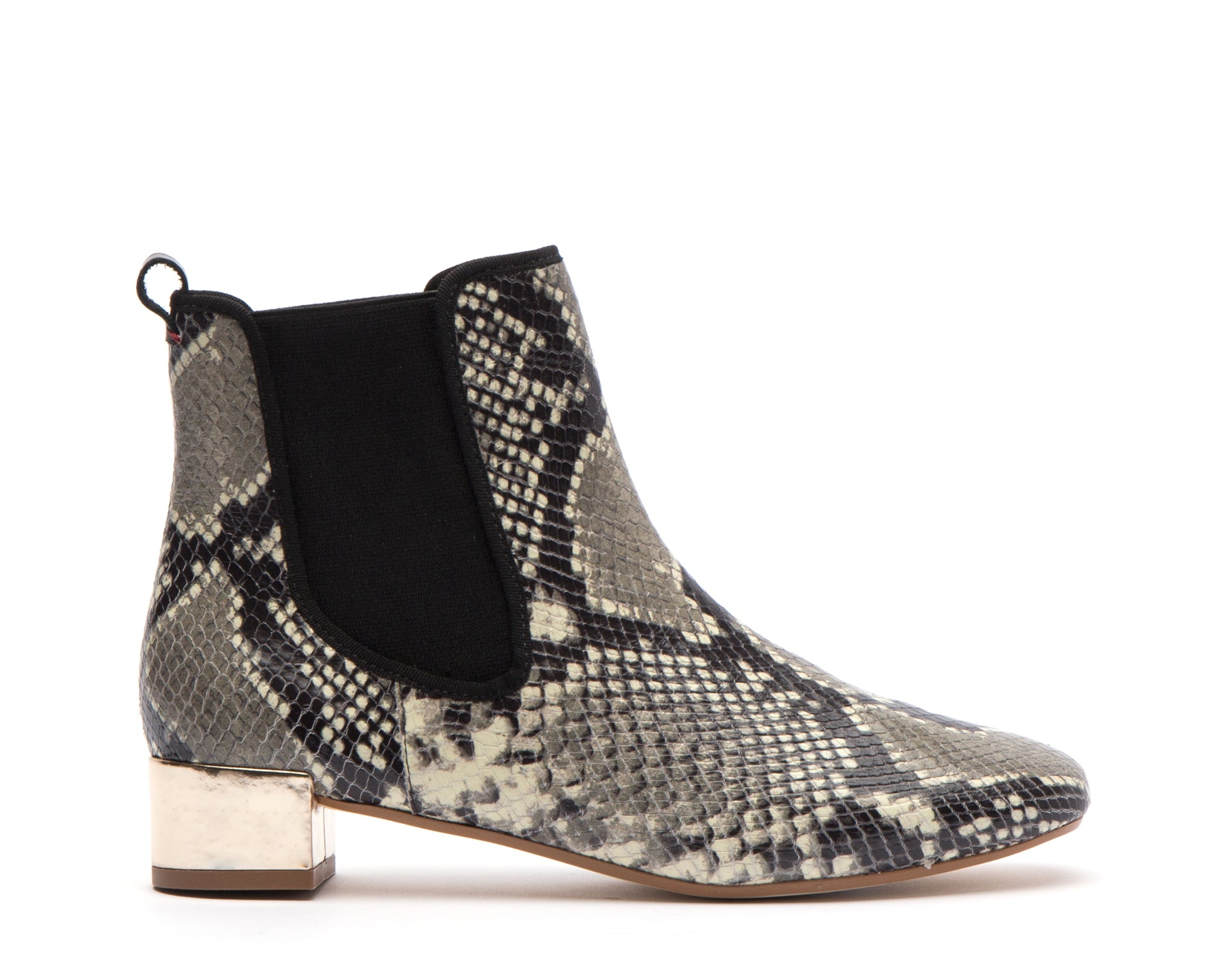 Milly Snake Leather Boots *FINAL SALE*