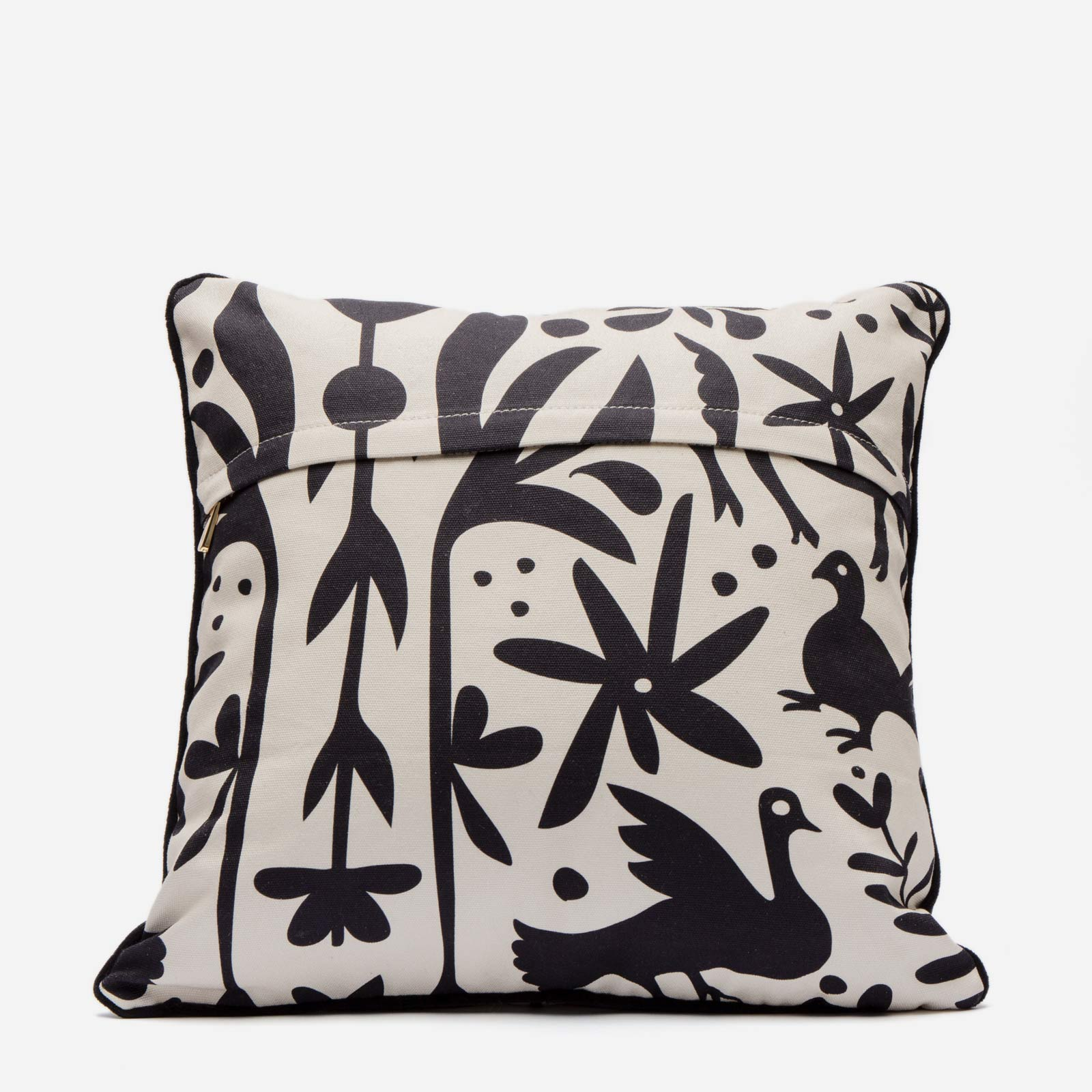 Veracruz Throw Pillow Black