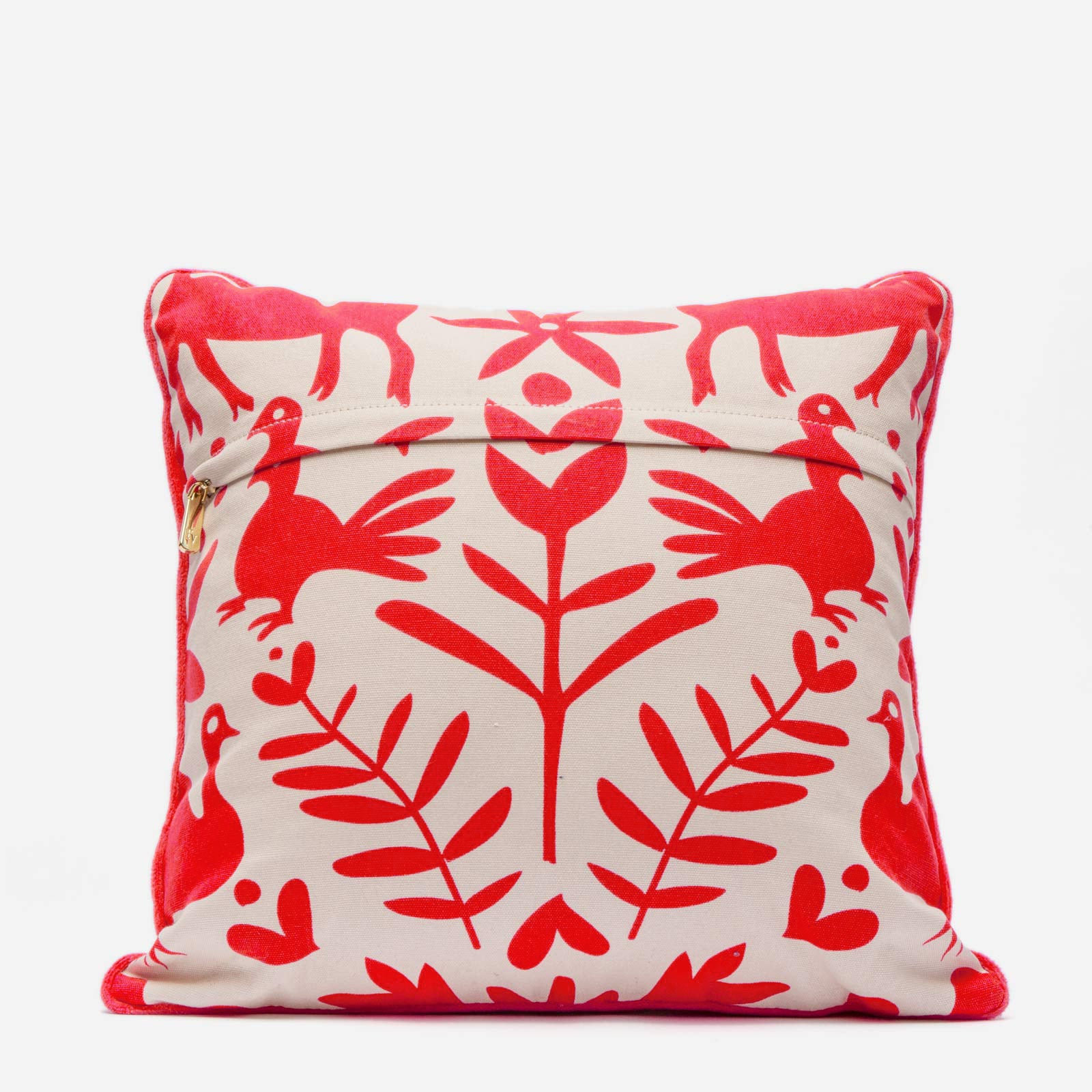 Veracruz Throw Pillow Red