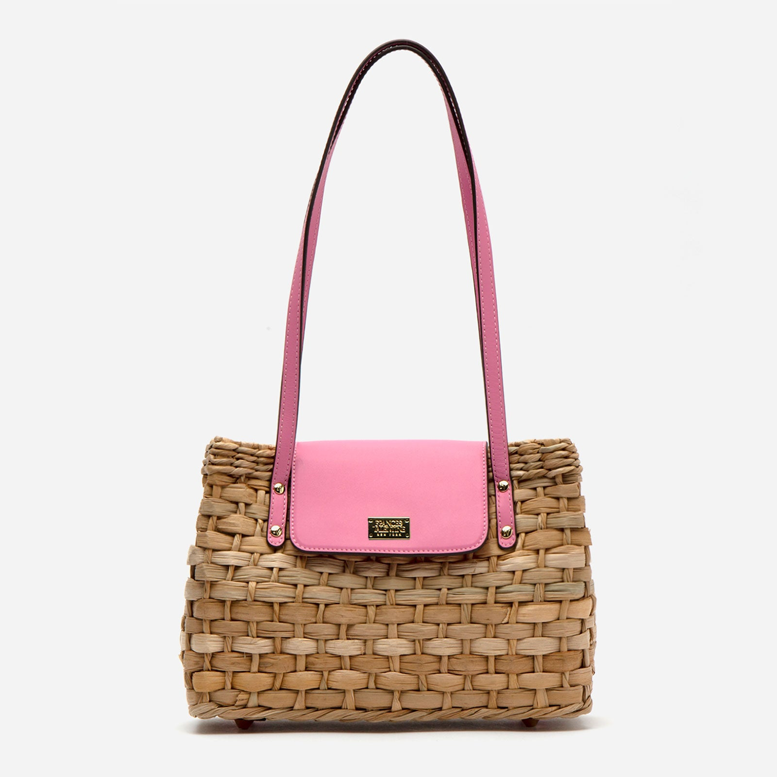 Medium Gigi Basket Pink - Frances Valentine
