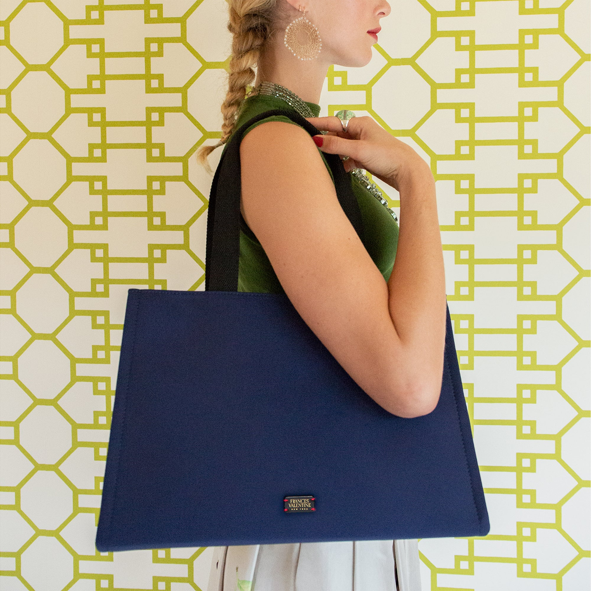 Limited Edition Kate Shoulder Tote Navy