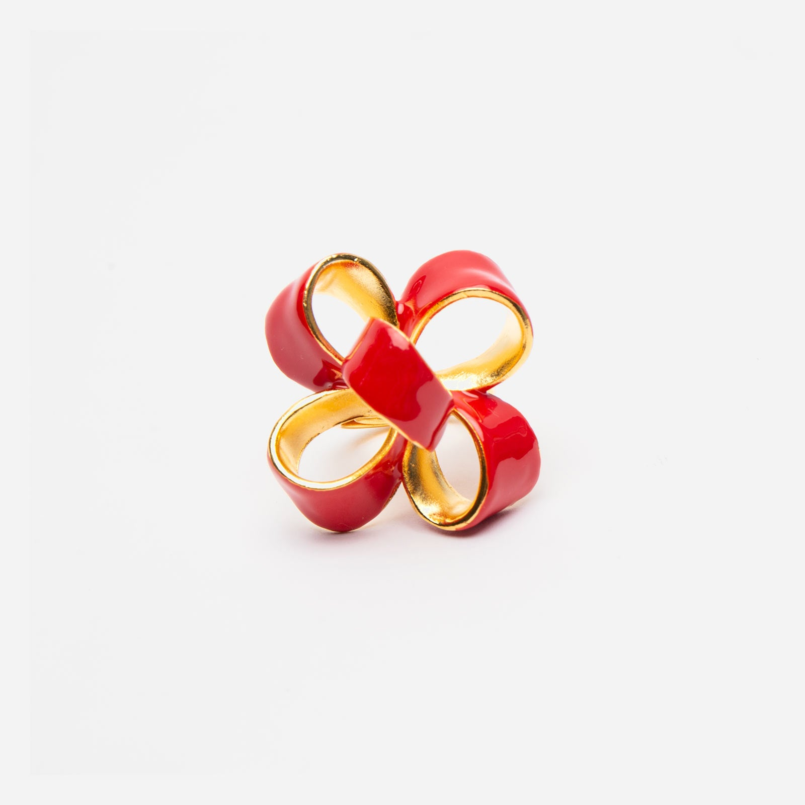 Red Bow Ring - Frances Valentine
