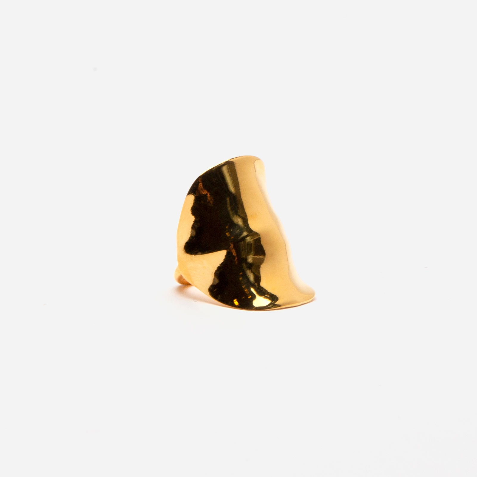 Gold Ripple Ring - Frances Valentine