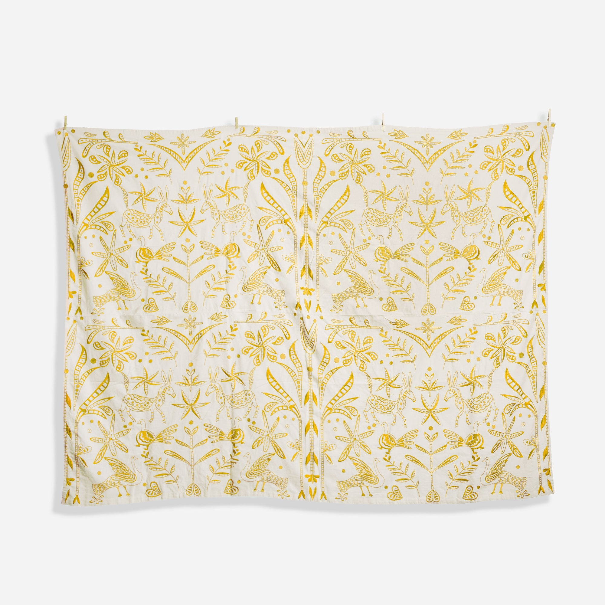 Embroidered Tablecloth Veracruz Yellow