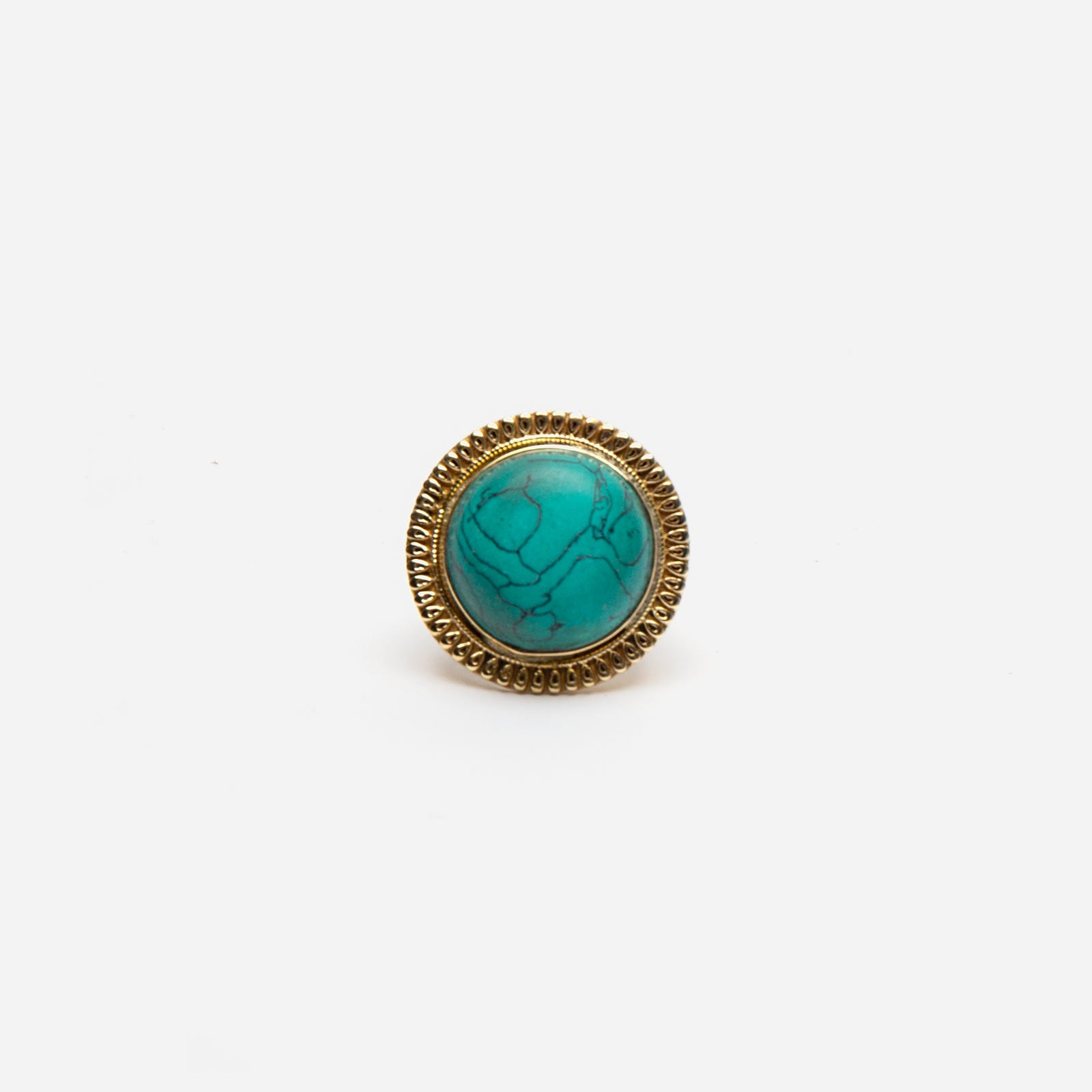 Jaipur Ring Teal - Frances Valentine