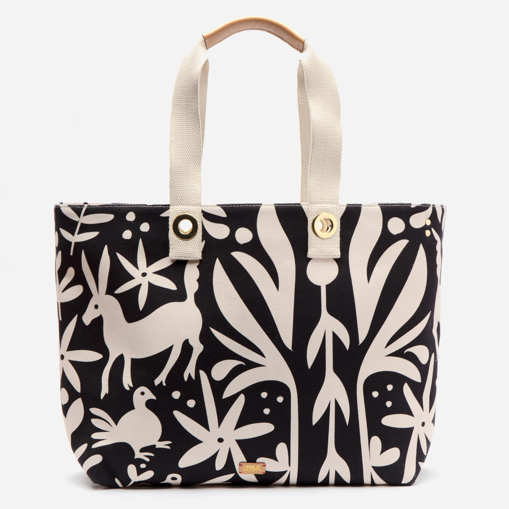 Weekender Veracruz Printed Canvas Black Oyster