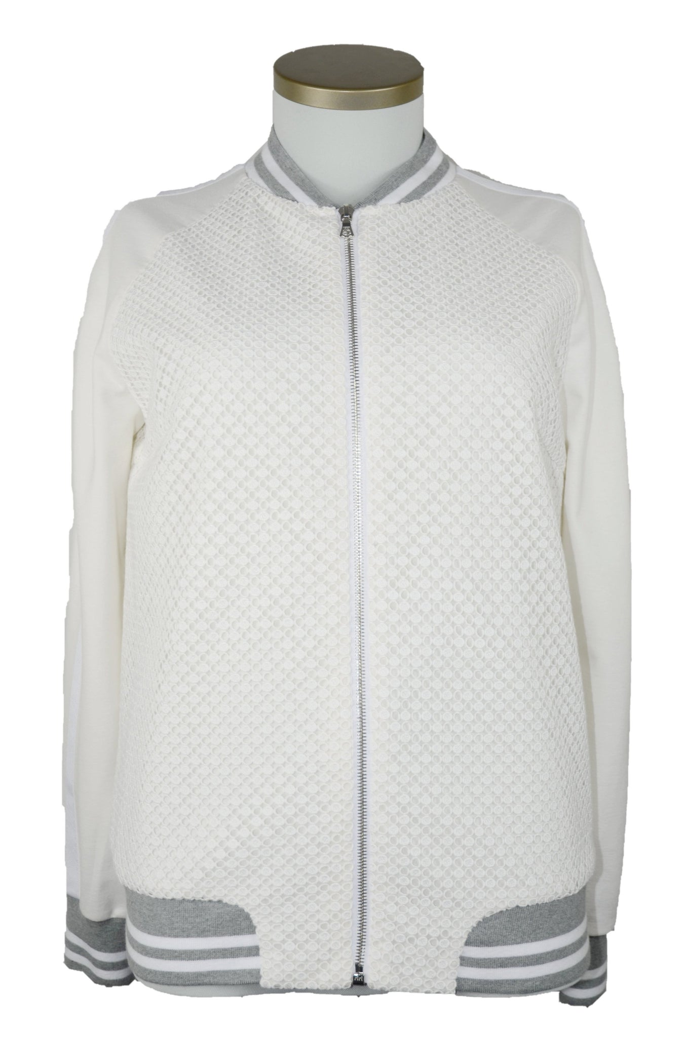 "Bomberjacke ""White Embroidery"""