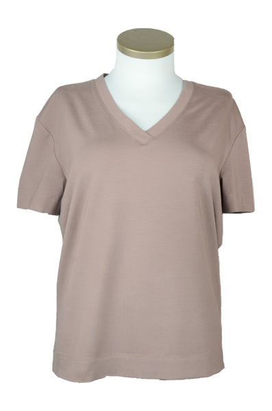 "T-Shirt Viskose ""light brown"""