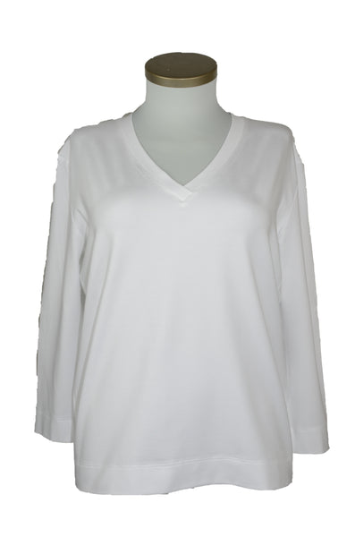 "T-Shirt Viskose ""white"""