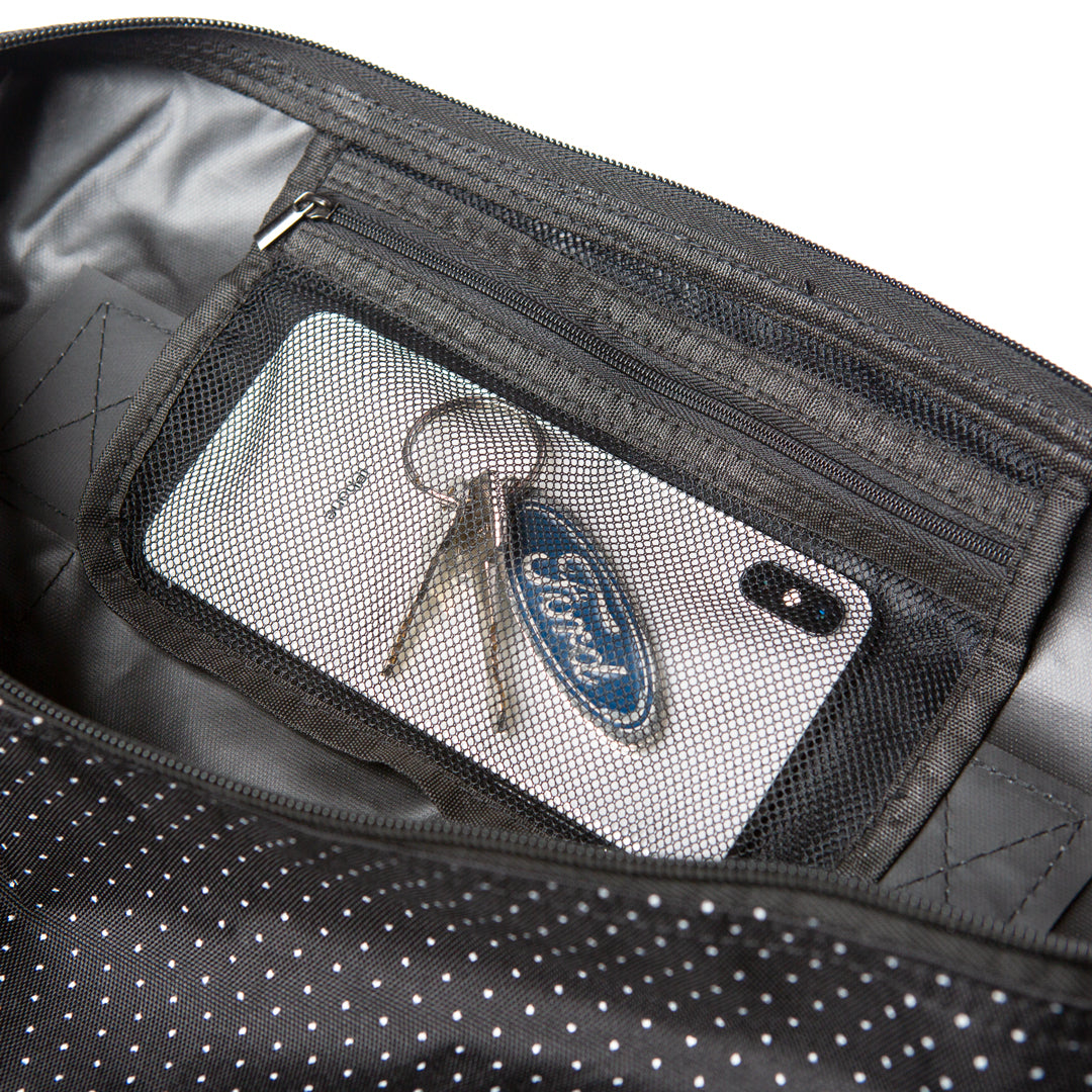 INDDUFBAG - Zipper stash pocket.