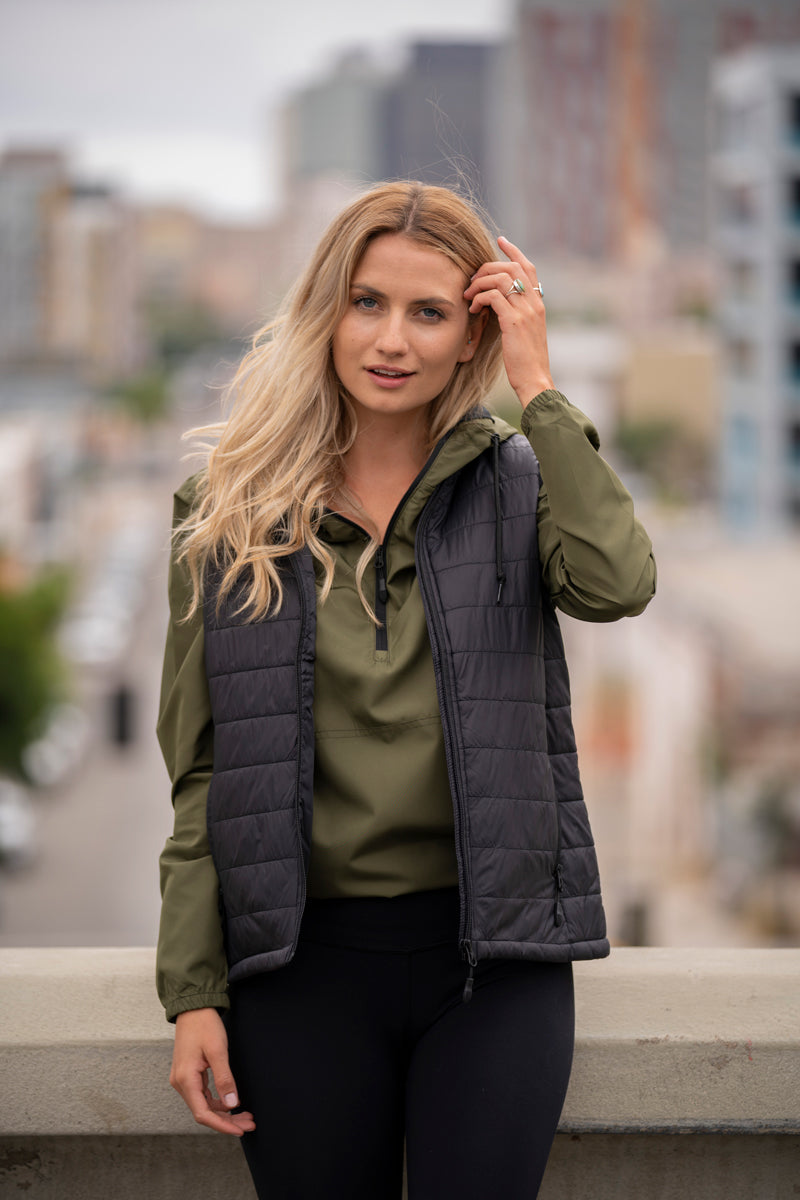EXP220PFV - Women's Hyper-Loft Puffy Vest