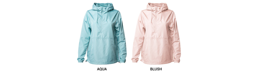 Lightweight Pullover Windbreaker Anorak Jacket New Colors