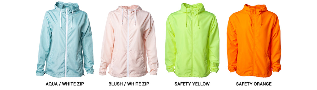 New Lightweight Windbreaker Jacket Colors