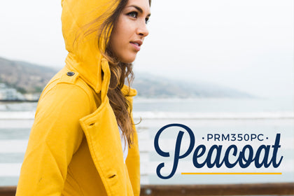 Women's French Terry Peacoat