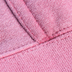 Pigment Dye stitching detail in color Pigment Maroon.