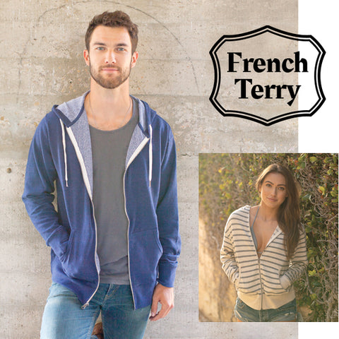 Independent Trading Company's Yarn Dyed French Terry