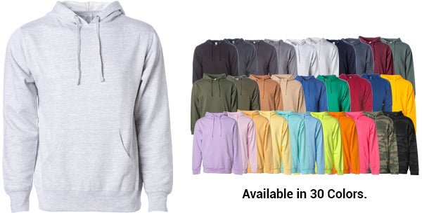 Men's Midweight Hooded Pullover