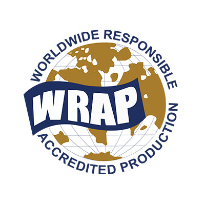Our China & Pakistan Factories are WRAP Gold Certified.