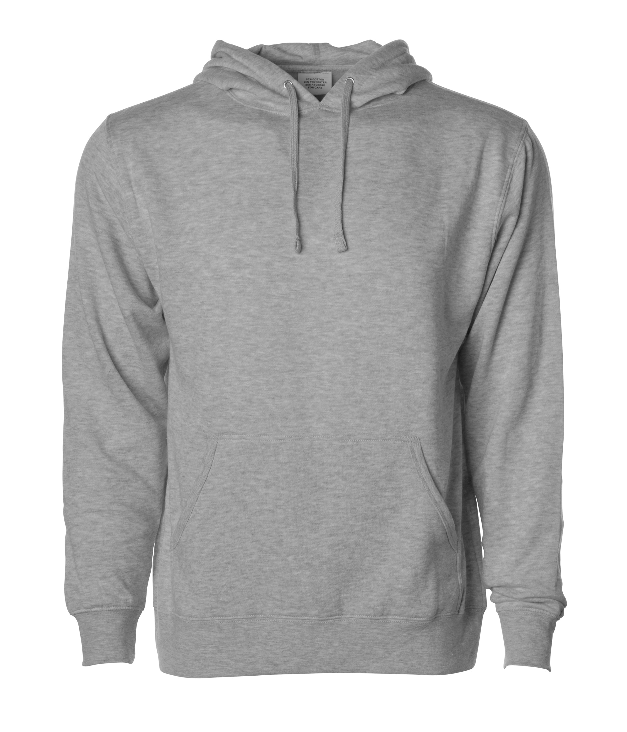 COTTON// POLY JERSEY HOODIE XS-3XL PULLOVER MEN/'S LIGHTWEIGHT HOODED T-SHIRT