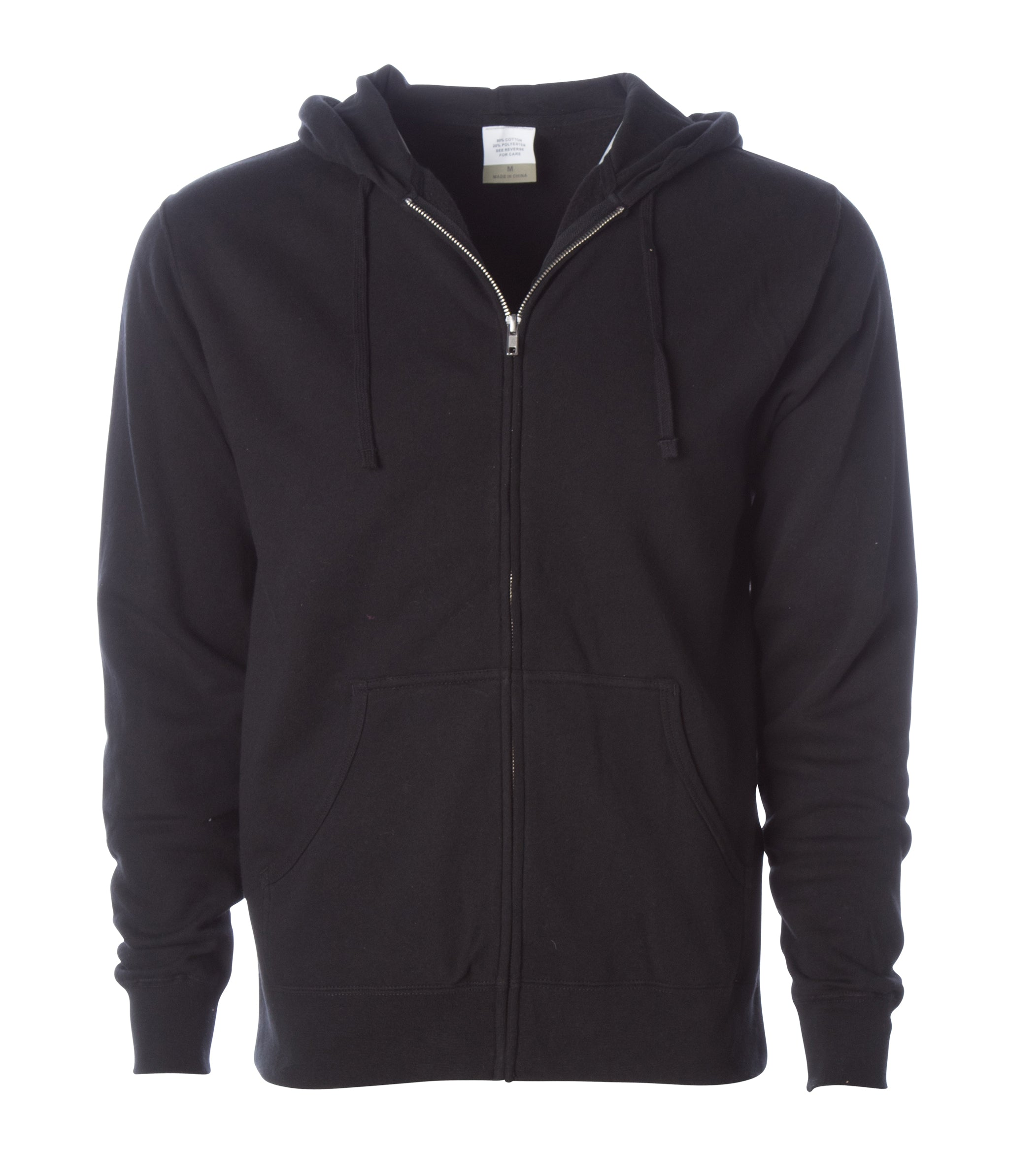 AFX4000Z Independent Trading Full-Zip Hooded Sweatshirt Charcoal Heather // L
