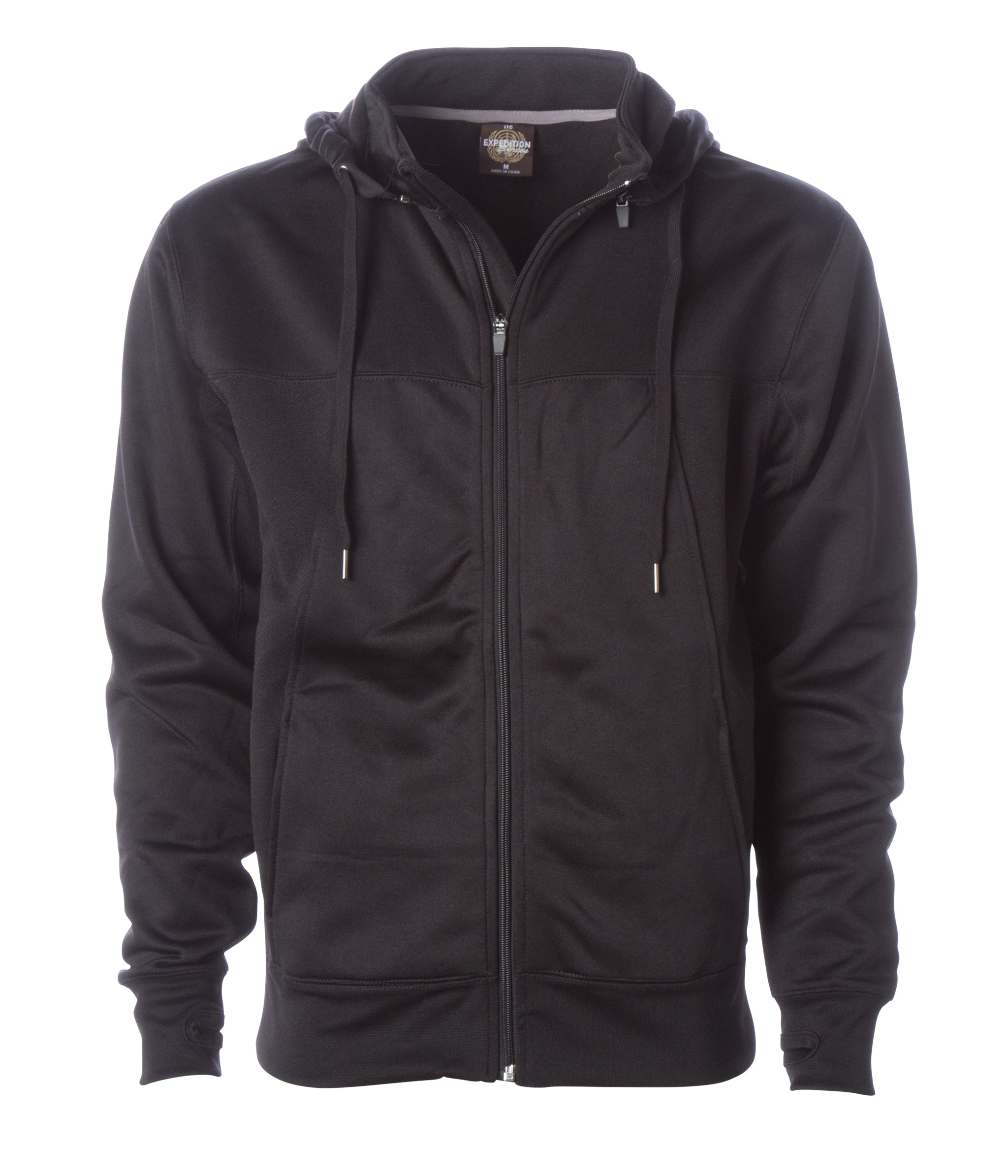 Independent Trading Co ITC Mens Hi-Tech Hooded Sweatshirt EXP80PTZ