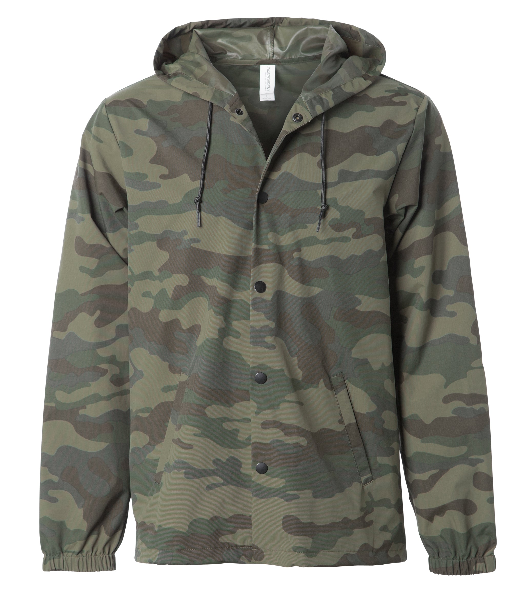 6cffee2db9 Hooded Water Resistant Windbreaker Jacket