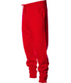Men's Midweight Fleece Pant - Red & White
