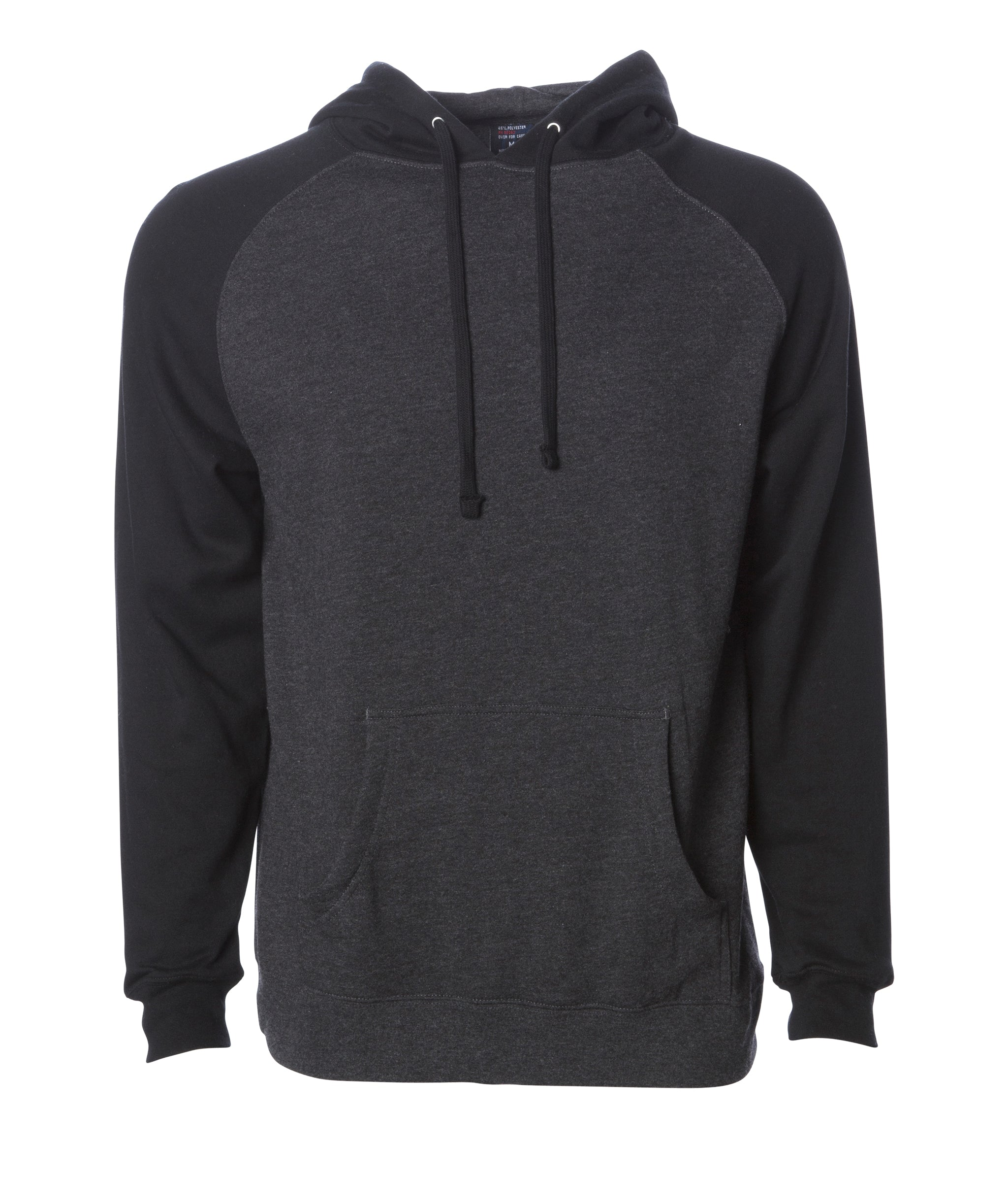 18abf222be Mens Raglan Hooded Pullover Sweatshirts | Independent Trading Company