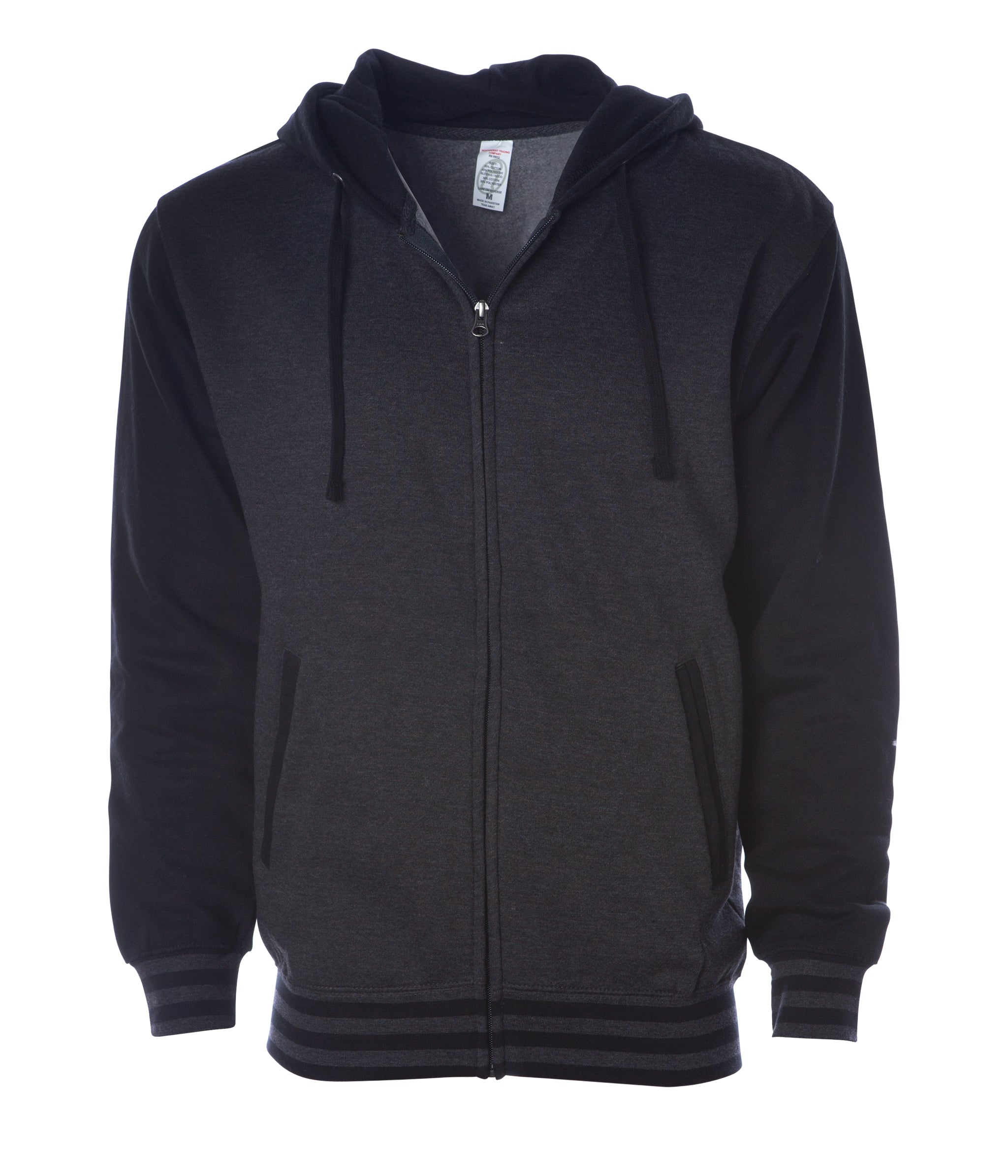 Independent Trading Company Mens Varsity Zip Hood